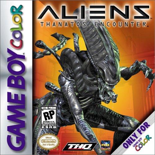 aliens thanatos encounter jaquette