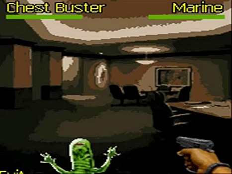 Aliens unleashed buster
