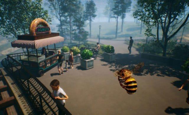Bee simulator monde des humains