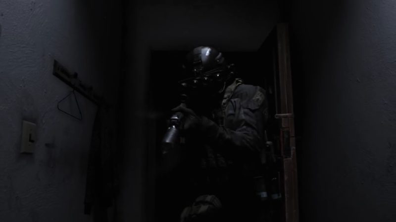 call of duty modern warfare dark soldier