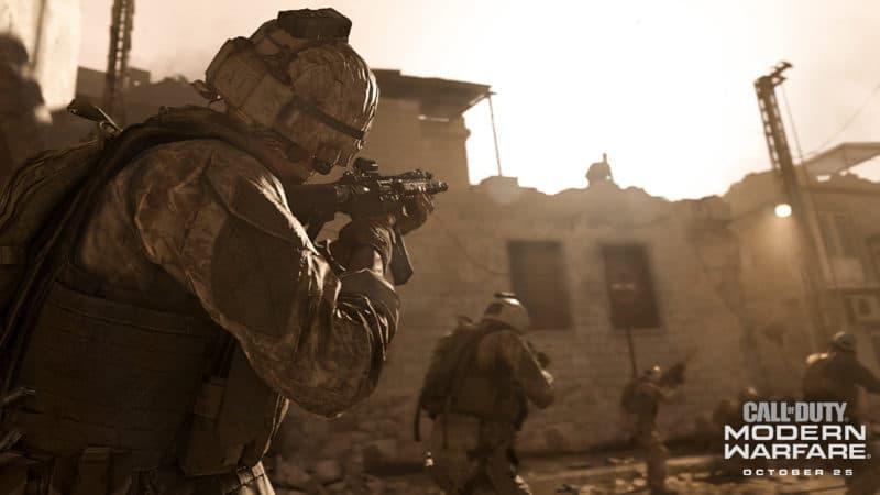 call of duty modern warfare désert