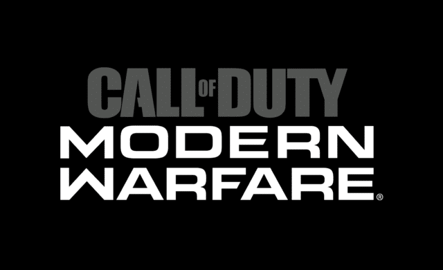 call of duty modern warfare logo