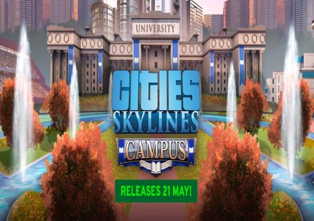 Affiche Cities Skyline campus
