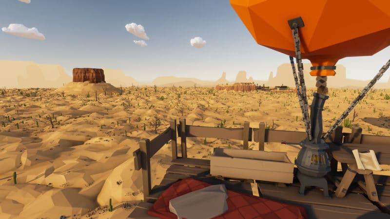 desert skies ballon