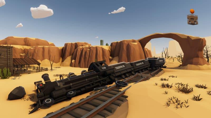 Train, réveil après la tempête Desert skies