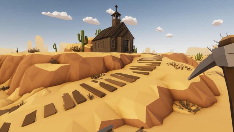 petite maison desert skies