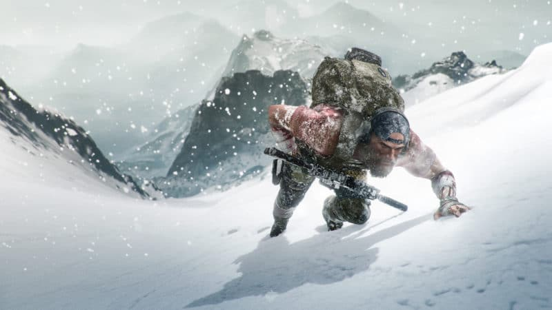 ghost recon breakpoint neige
