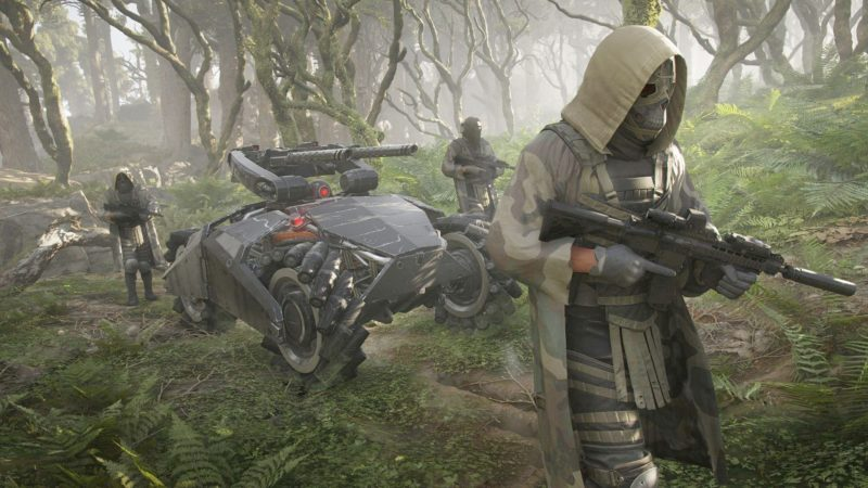 ghost recon breakpoint les wolves