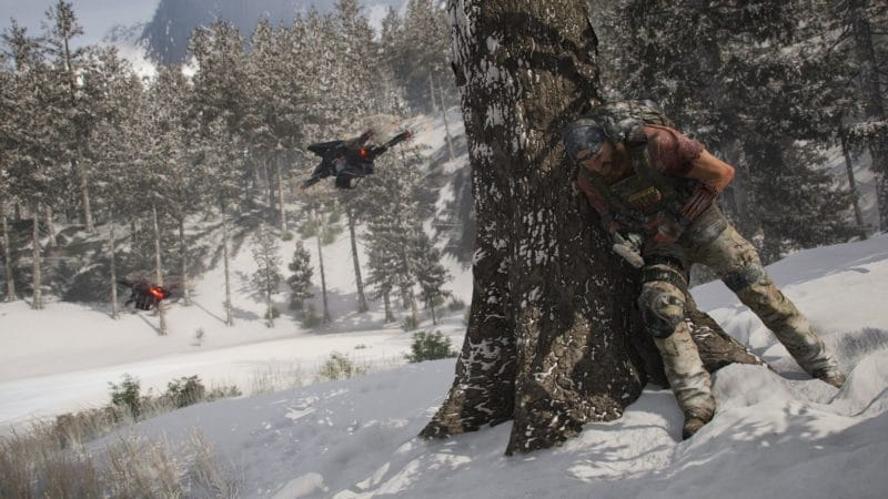 ghost recon breakpoint fight snow