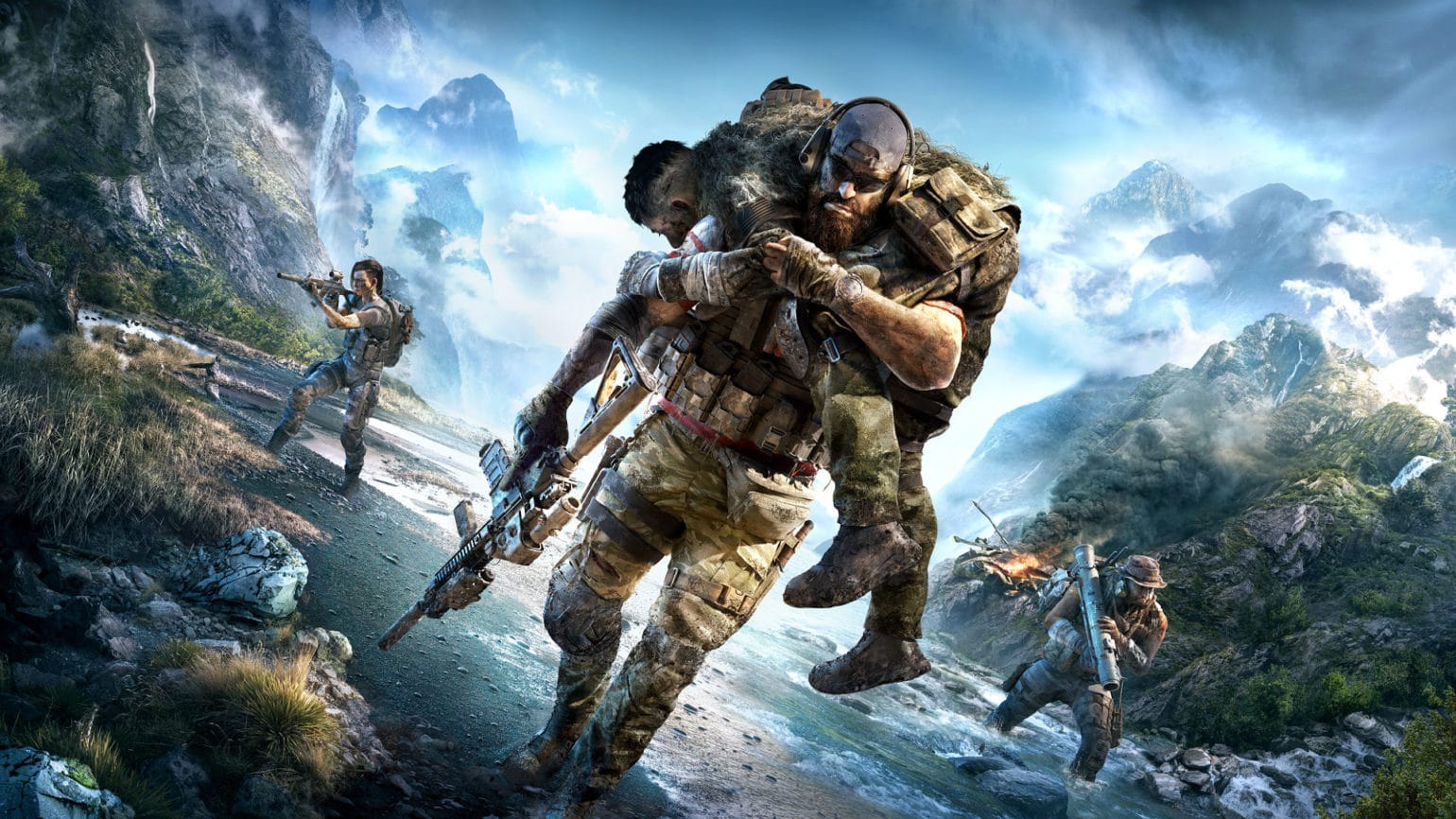 ghost recon breakpoint artwork