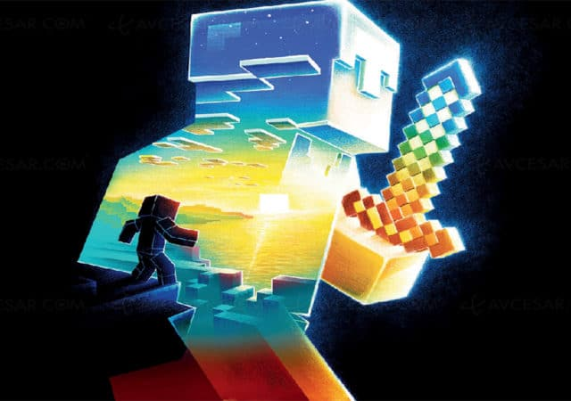 Minecraft L'île Perdue Wallpaper