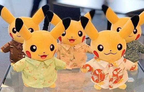 Pokéon Shirts peluches Pikachu chemise