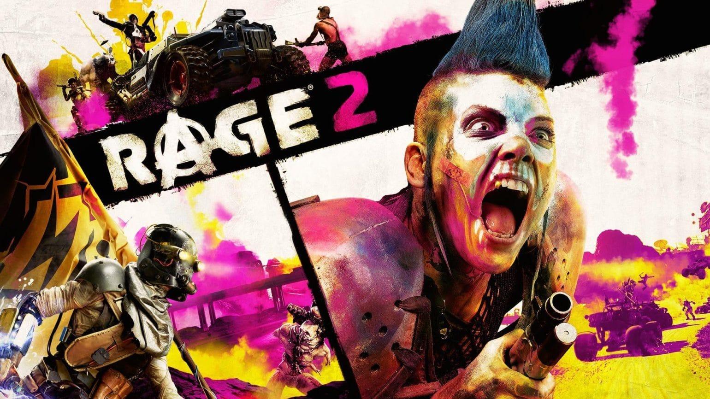 rage 2 - affiche