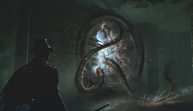 The Sinking City nouveau trailer gameplay tentacules