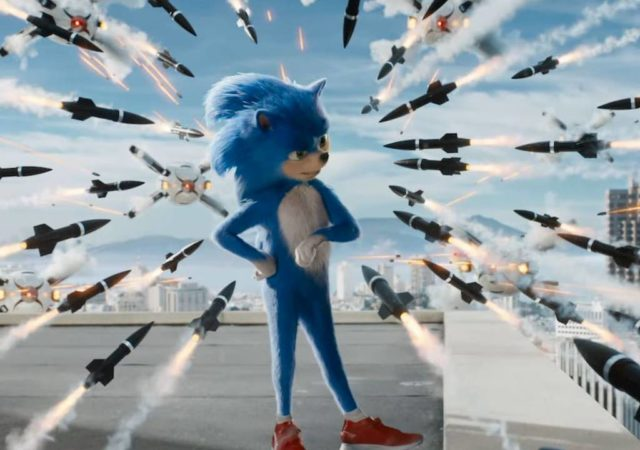 Sonic le film missile