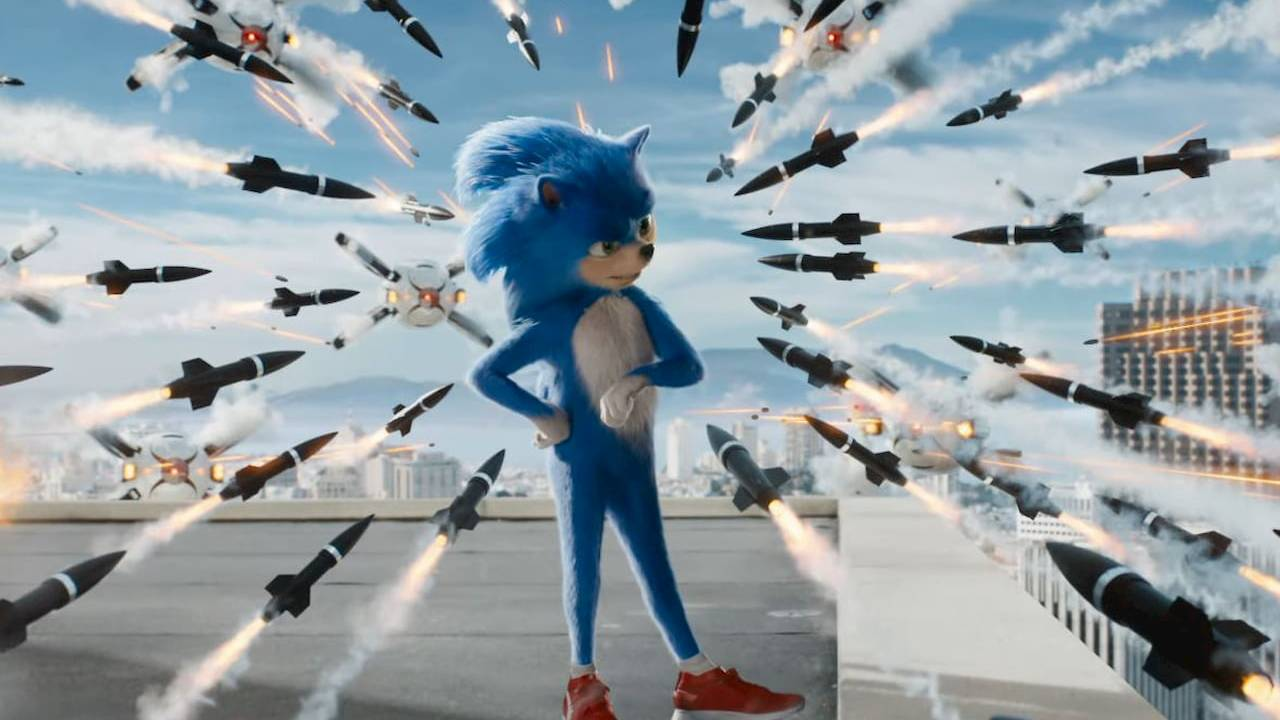 Sonic le film missile