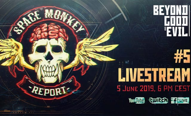 Beyond Good And Evil 2 Space Monkey Report Annonce
