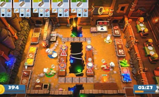 PlayStation Plus Overcooked cuisine