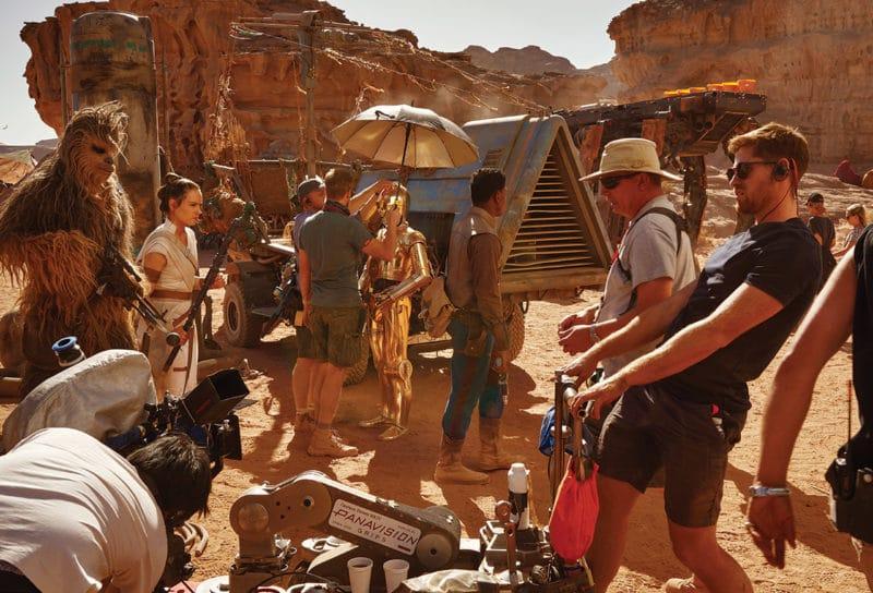 Star Wars 9 Tournage