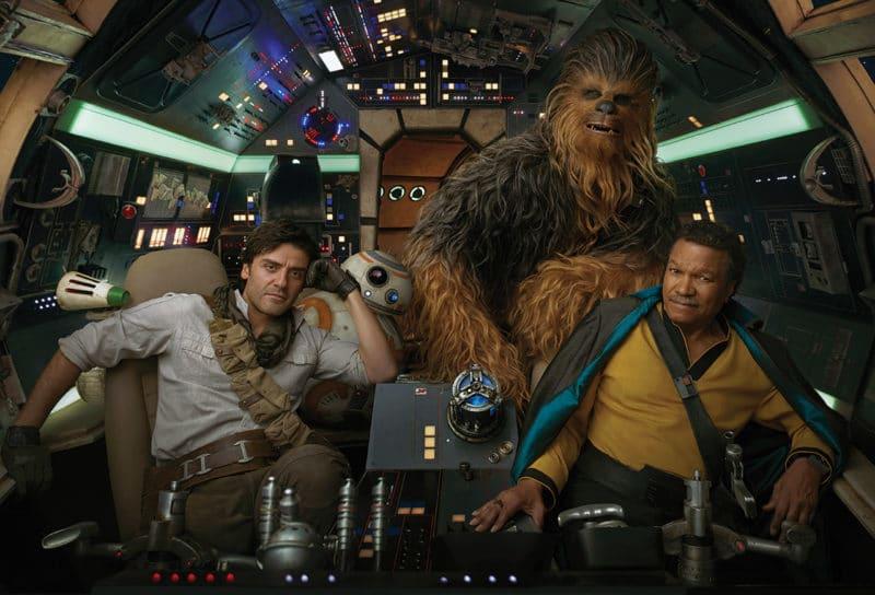 Star Wars 9 Poe BB-8 Lando Chewbacca