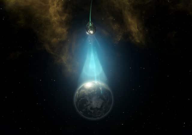 Stellaris Ancients Relics DLC illustration planète