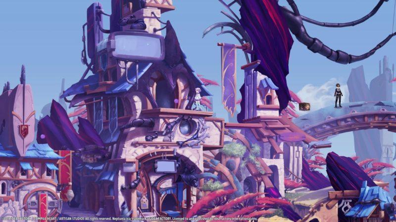 Super Neptunia RPG Ville