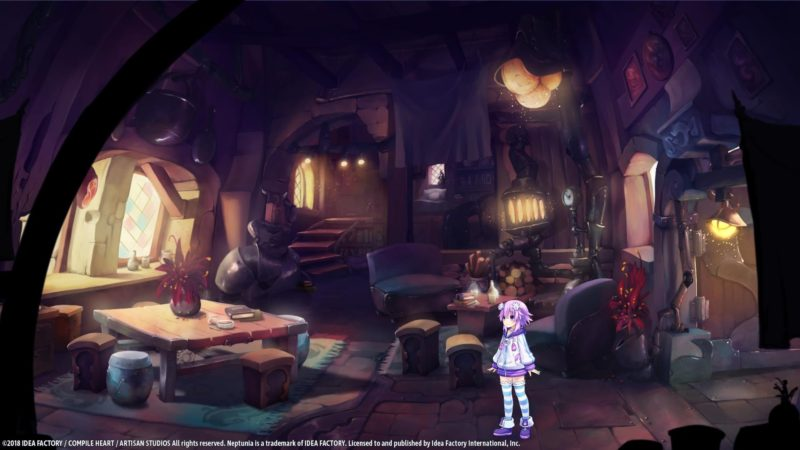 Super Neptunia RPG intérieur