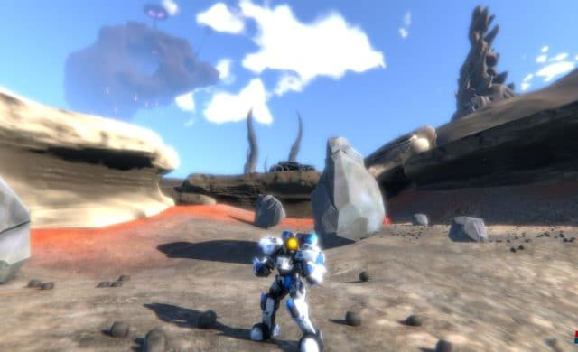 Triton survival exploration desert