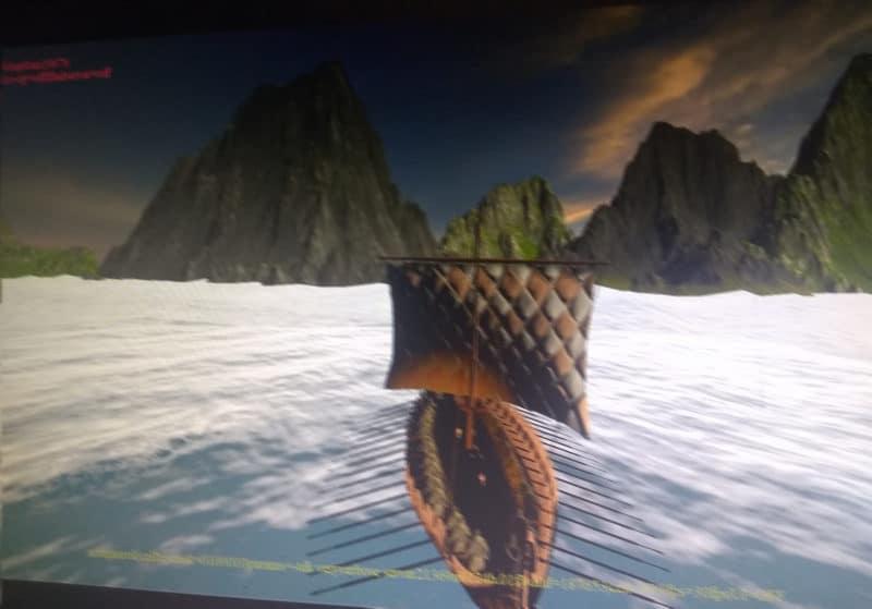 Assassin's Creed Ragnarok - En bateau