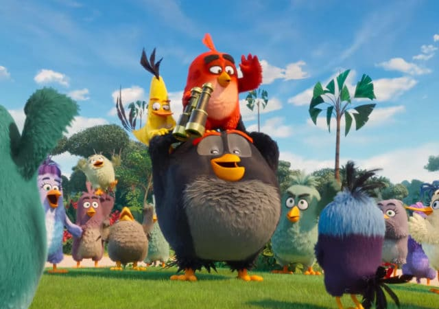 Angry Birds red et amis