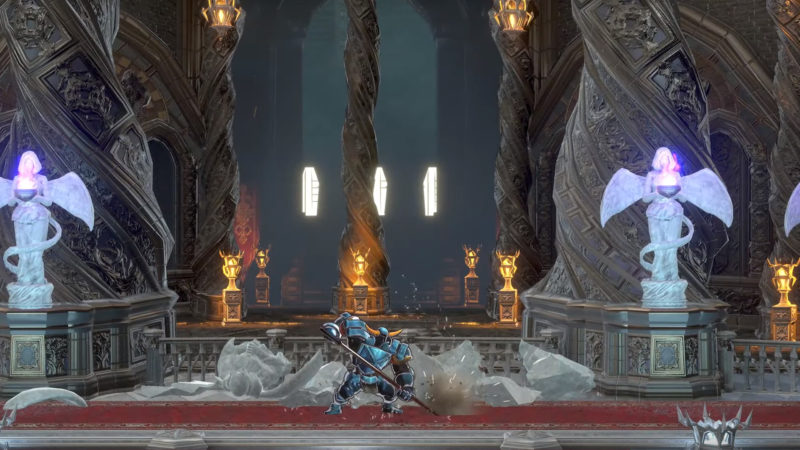 Shovel Knight dans Bloodstained
