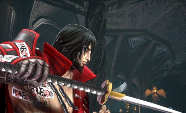 Bloodstained personnage gros plan