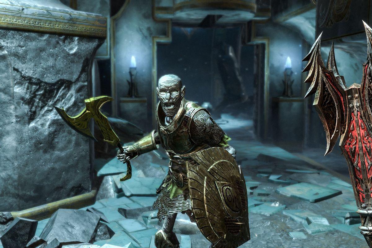 The Elder Scrolls Blade combat