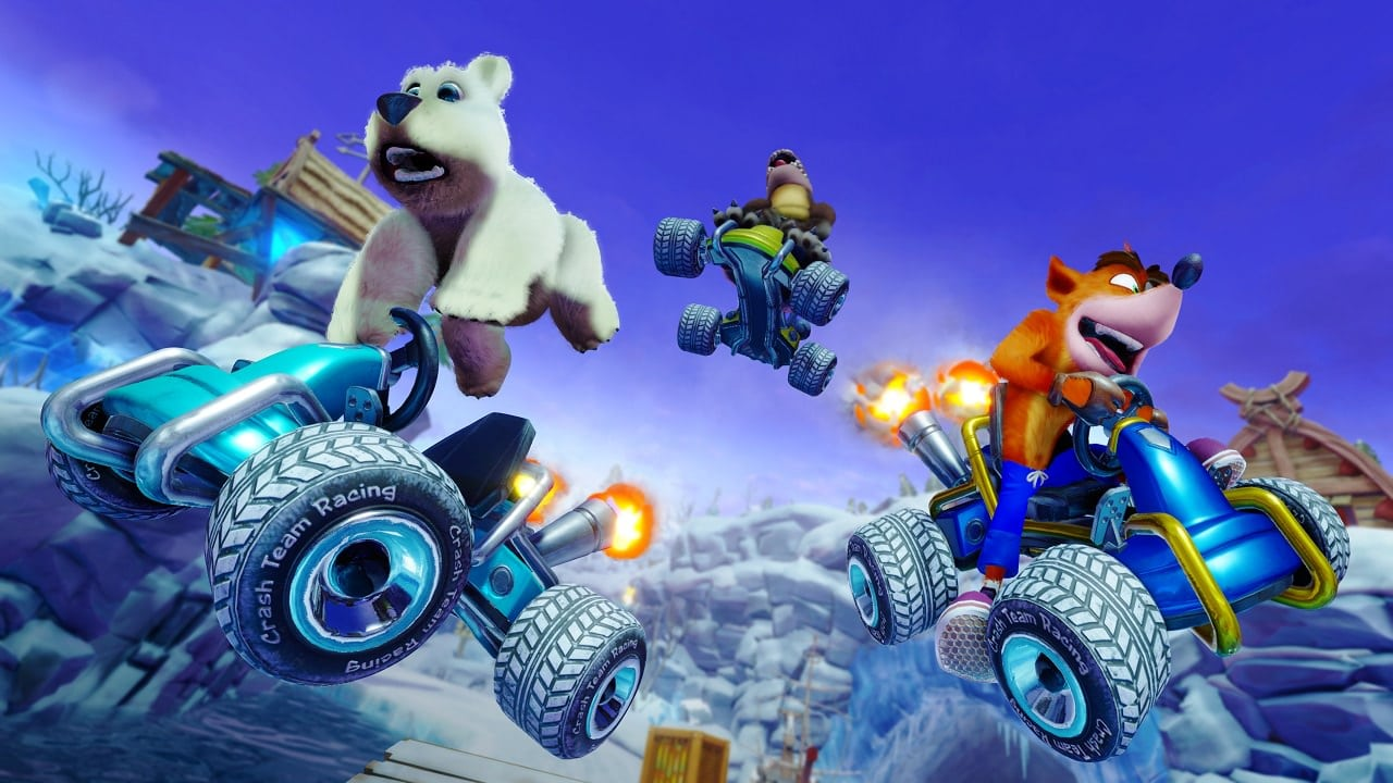 Crash Team Racing Nitro-Fueled course