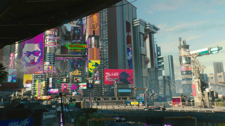 Cyberpunk 2077 monde ouvert