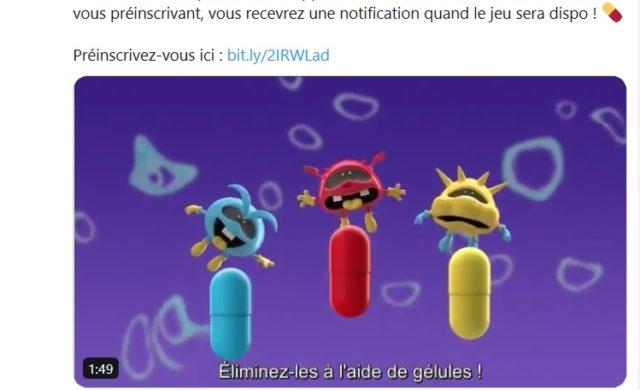 Dr. Mario World - Tweet Annonce