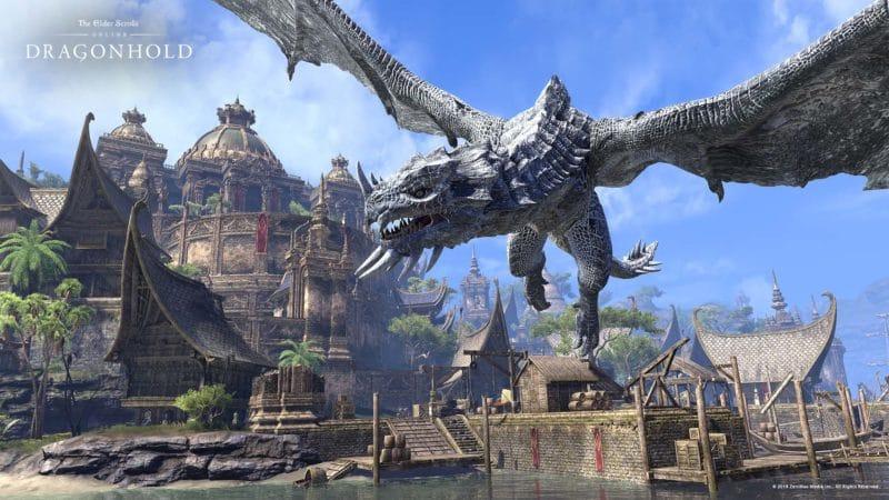 The Elder Scrolls Online Dragon