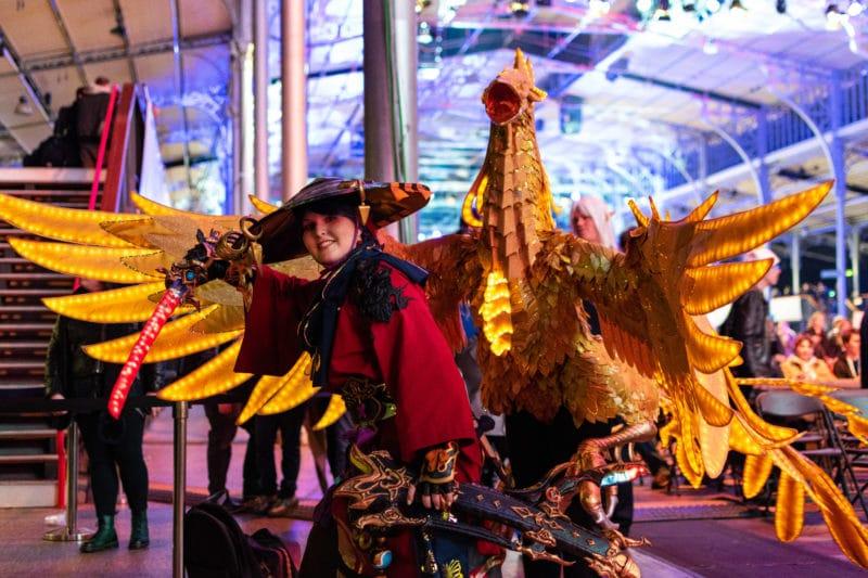 Cosplay samurai Fan Festival Final Fantasy XIV