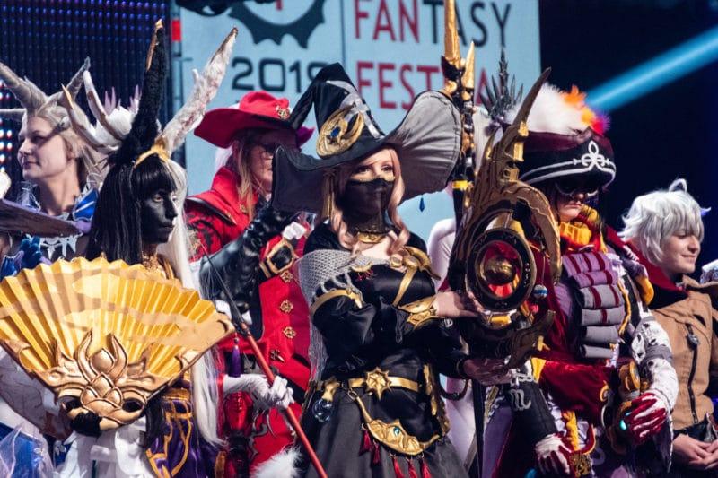 Cosplay groupe Fan Festival Final Fantasy XIV