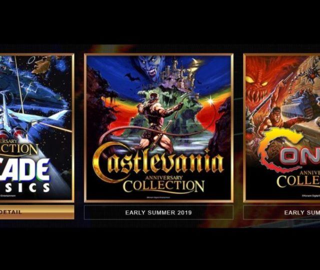 Konami Anniversary Collection - Poster promo