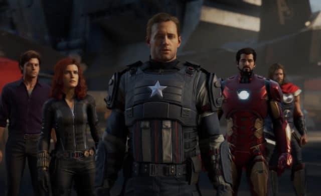 Marvel's Avengers full team