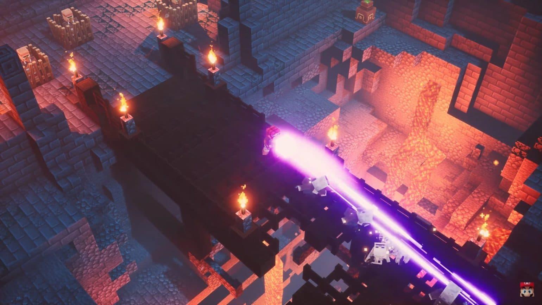 Minecraft Dungeons - magic