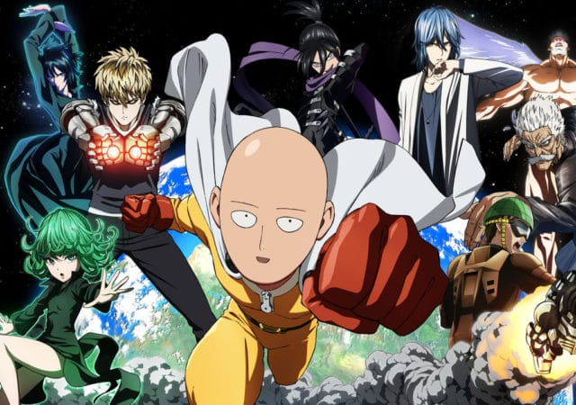 One Punch Man Saitama