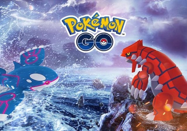 Pokémon GO - Kyogre et Groudon