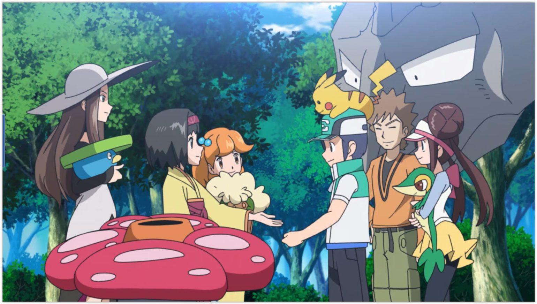 Pokémon Masters rencontre de chasseurs