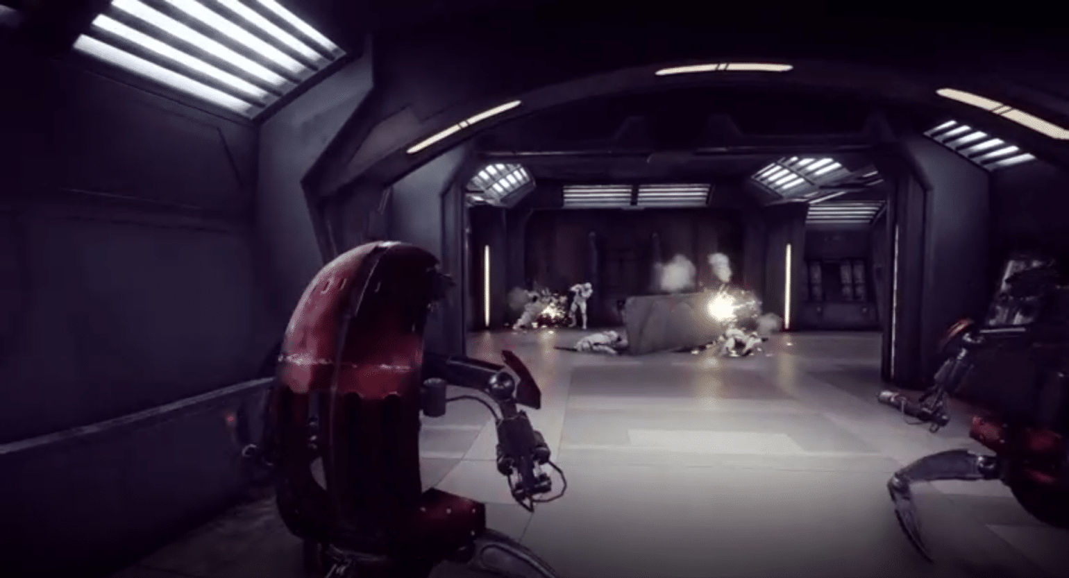 Star Wars Battlefront 2 Droidekas