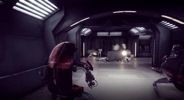 Star Wars Battlefront 2 Droidekas