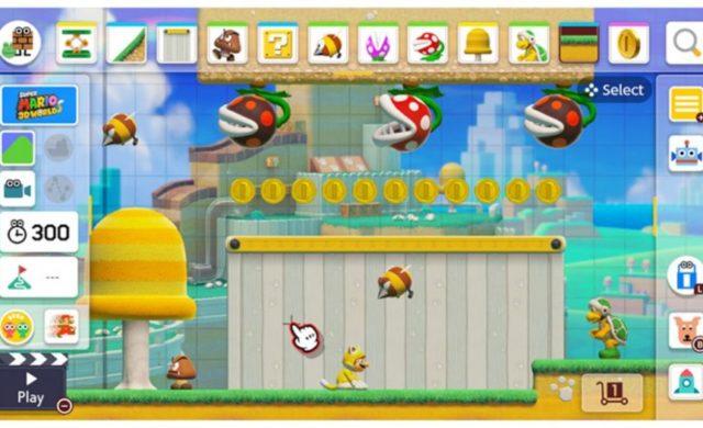 Super Mario Maker 2 création de stage