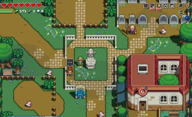 Cadence of hyrule - Village Cocorico