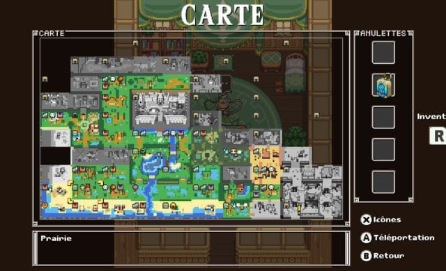 Cadence of hyrule - carte du jeu